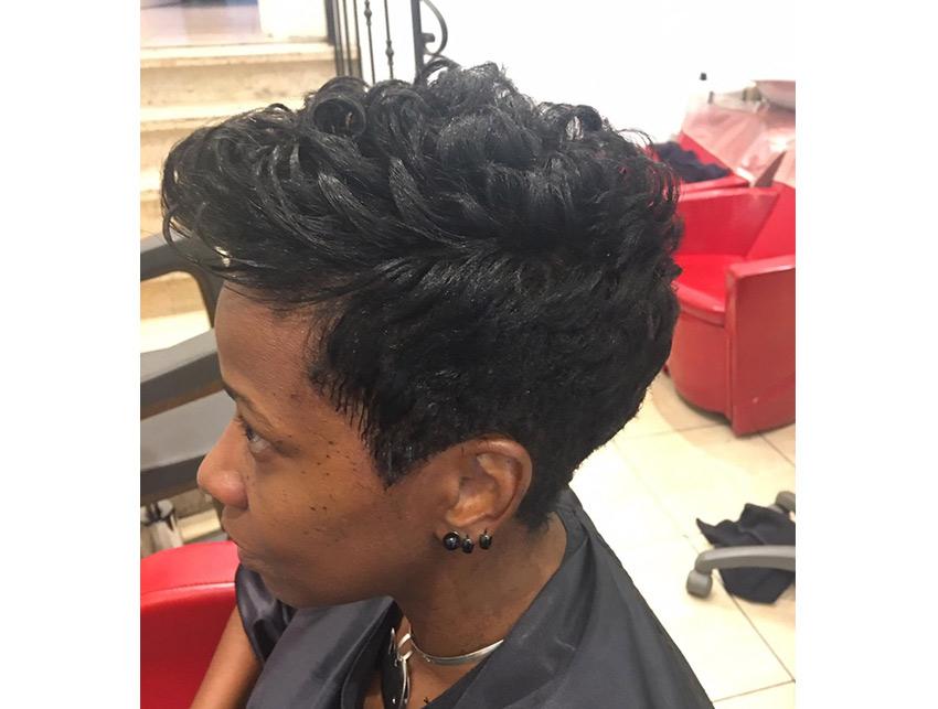 coiffure afro européen bruxelles adele simo coupe courte bouclés
